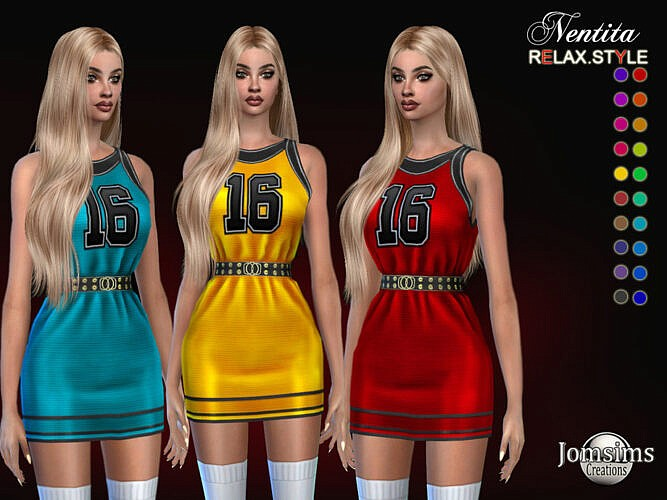 Nentita Dress By Jomsims