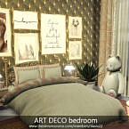 Art Deco Bedroom By Dasie2