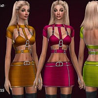 Waegsa Dress By Jomsims
