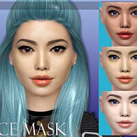 Face Mask N05 By Magichand