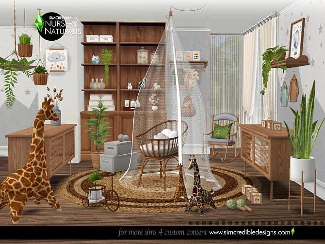 Sims 4 Naturalis Nursery by SIMcredible at TSR