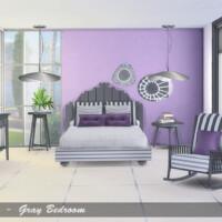 Gray Bedroom By Pilar