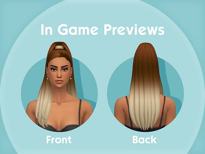 Sims 4 Kimmy Hairstyle by simcelebrity00 at TSR