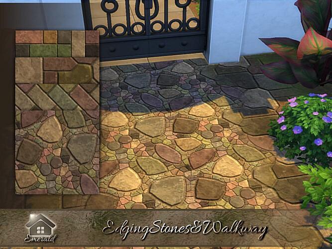 Edging Stones & Walkway By Emerald