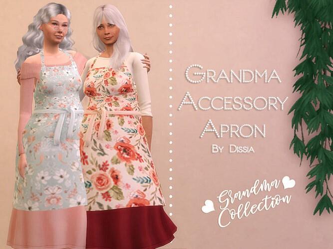 Grandma Accessory Apron By Dissia