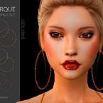 Torque Earrings Set By Suzue