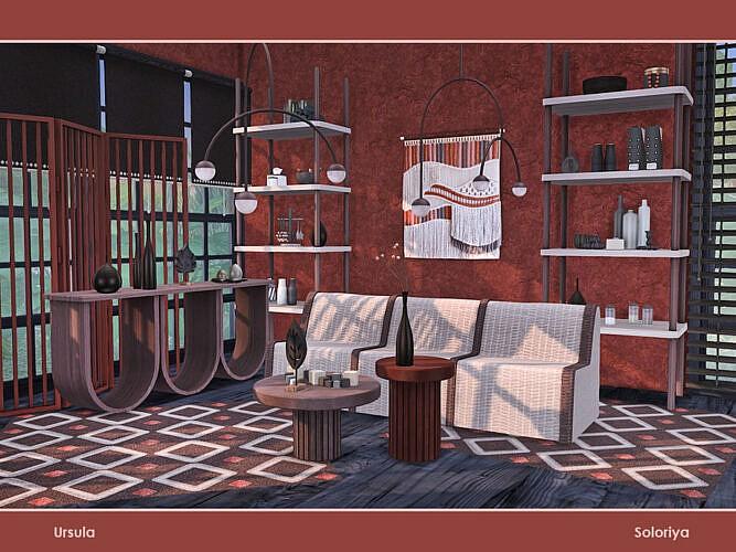 Ursula Living Room By Soloriya
