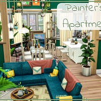 Painter's Apartment By Simmer_adelaina