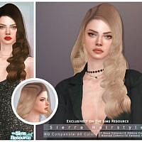 Siearra Hairstyle By Darknightt