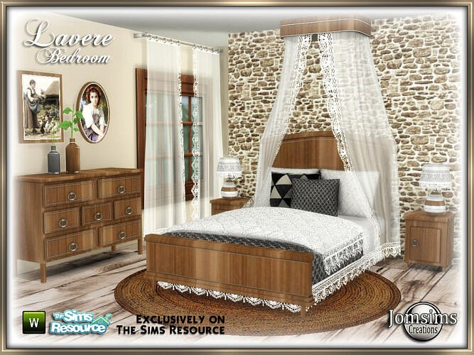 Lavere Bedroom By Jomsims
