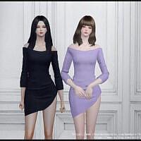 Assymetrical Dress 20210407 By Arltos