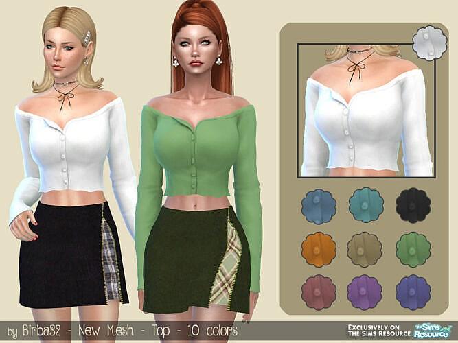 Ylenia Top By Birba32