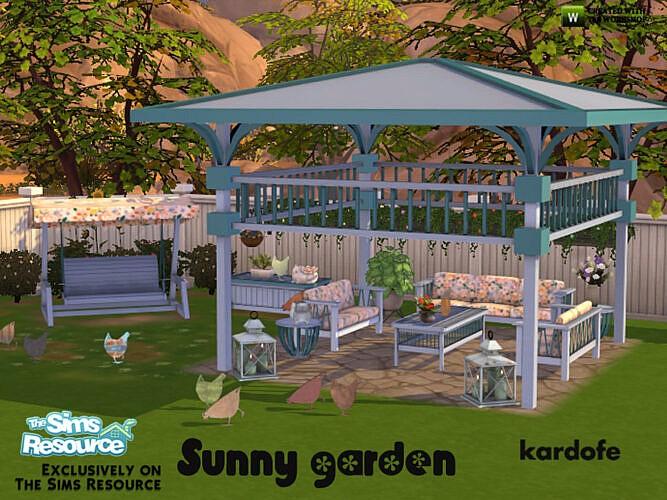 Sunny Garden Set By Kardofe