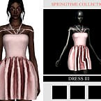 Springtime Collection Dress Iii By Viy Sims