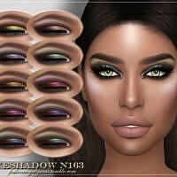 Frs Eyeshadow N163 By Fashionroyaltysims