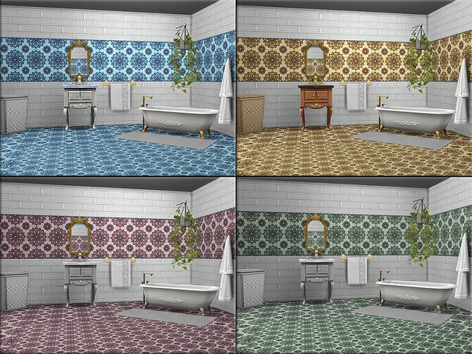 Sims 4 MB Stone Collection Fantasia SET by matomibotaki at TSR