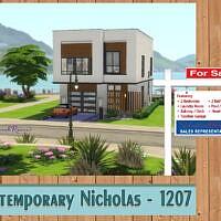 Contemporary Nicholas 1207 Home By Savannahraine