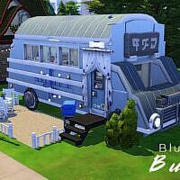 Blue Bus By Genkaiharetsu