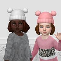 Ip Toddler Bobble Hat By Infiniteplumbobs