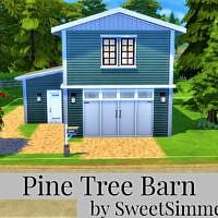 Pine Tree Barn By Sweetsimmerhomes