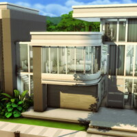 Modern Familiar House By Plumbobkingdom