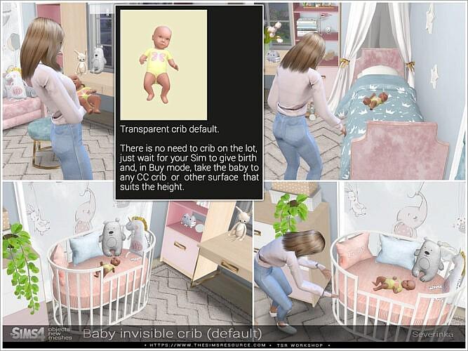 Invisible Crib Default By Severinka