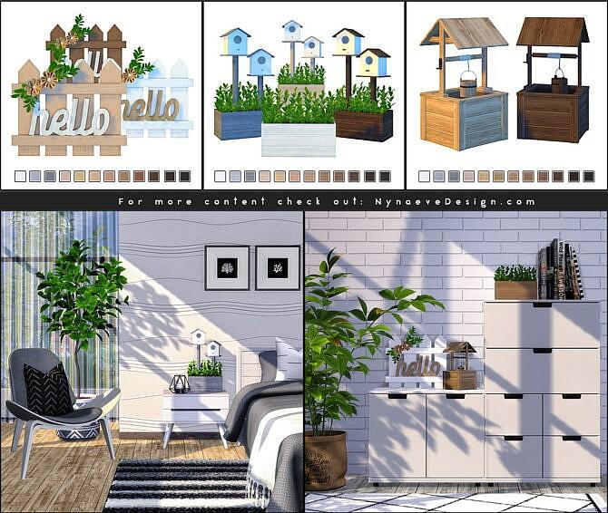 Sims 4 Daya Spring Decor at Nynaeve Design