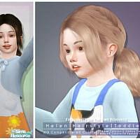 Helen Hairstyle [toddler] By Darknightt