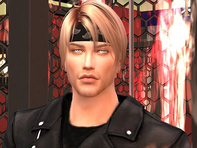 Sims 4 Chris Newman by DarkWave14 at TSR
