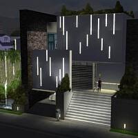 Evergreen Modern House By Alexiasi