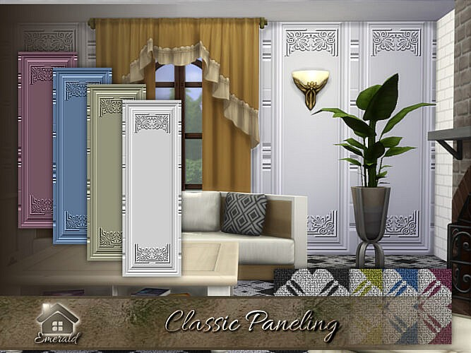 Classic Paneling By Emerald