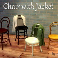 Chair With Jacket By Pocci