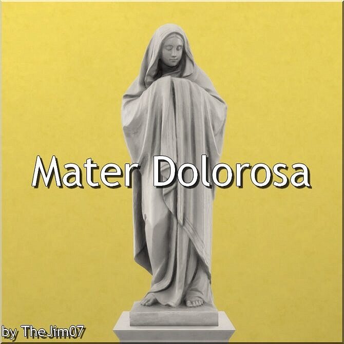 Sims 4 Mater Dolorosa by TheJim07 at Mod The Sims 4