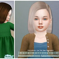 Nora Hairstyle V2 By Darknightt