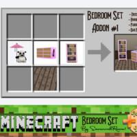 Minecraft Bedroom Set Add-on Pack #1 By Savannahraine
