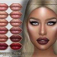 Frs Lipstick N250 By Fashionroyaltysims