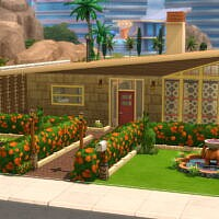 The El Dorado Mid-century Modern Home By Dominopunkyheart