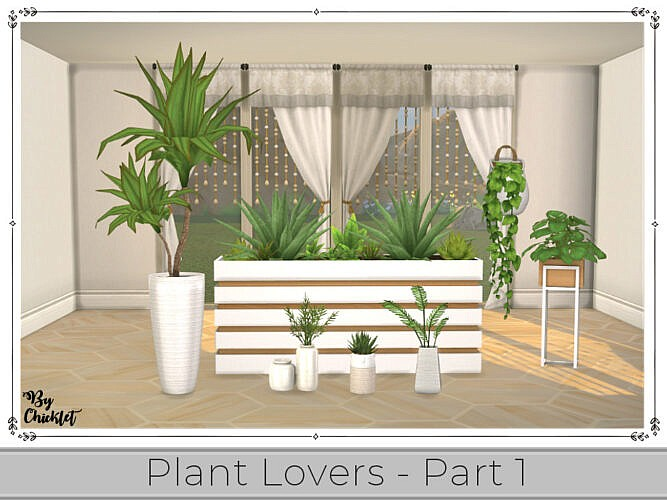 Plant Lover Set (part 1) By Chicklet