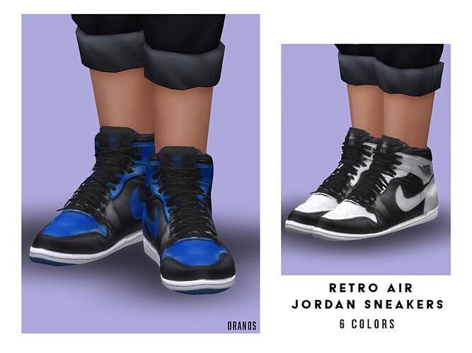 Retro Air Jordan Sneakers (child) By Oranostr