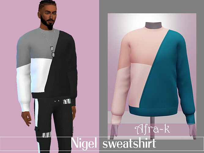 Nigel Sweatshirt By Akaysims