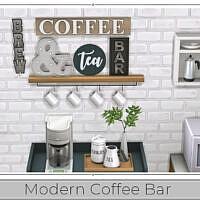 Modern Coffee Bar By Chicklet