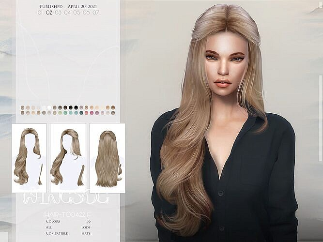 Wings-to0422 Hair