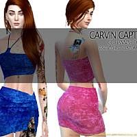 Hannah Skirt Set By Carvin Captoor