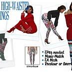 Ep08 High-waisted Leggings