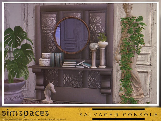 Salvaged Console Set By Simspaces