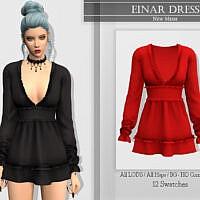Einar Dress By Katpurpura