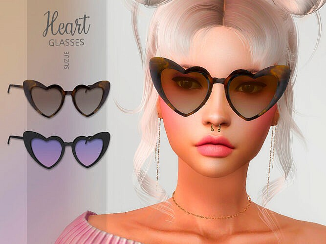 Heart Glasses By Suzue