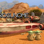 Grogunome (baby Yoda As A Gnome Functional) By Soaplagoon