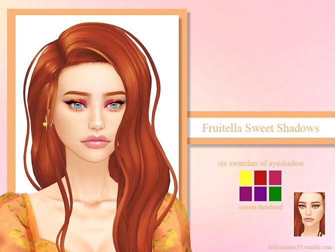 Sims 4 Fruitella Sweet Shadows by LadySimmer94 at TSR