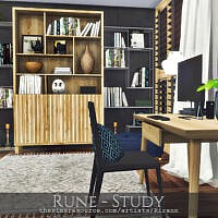 Rune Study By Rirann